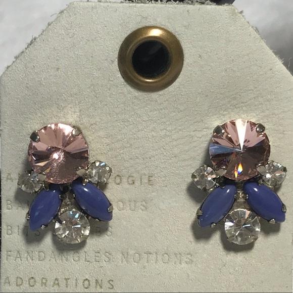 Sorrelli Jewelry - NWT SORRELLI stud earrings pink purple white post